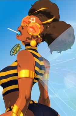 "tovio-rogers: "" bumble bee"""