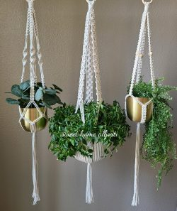 Macrame Plant Hanger by Sweet Home Alberti