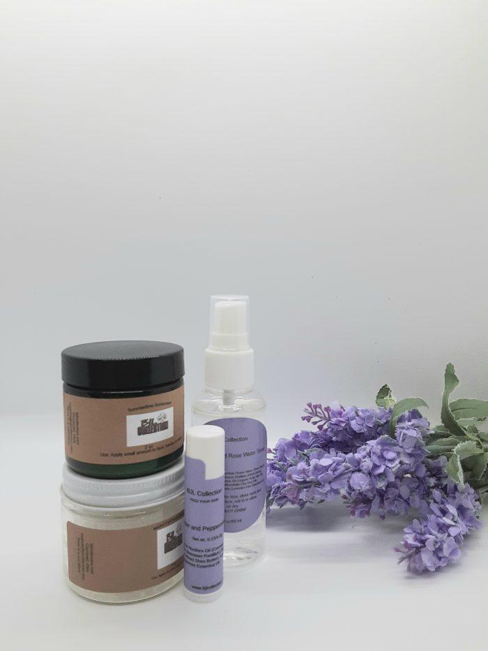 Lavender and Rose Water Toner Set