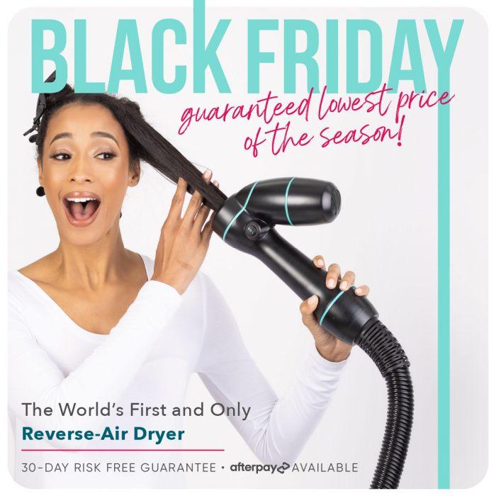 Black Friday SALE + 5 ReVair Tips for Fine or Fragile Natural Hair