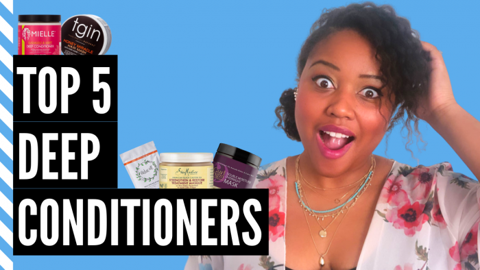 Top 5 DEEP CONDITIONERS That SAVED My NATURAL HAIR! 😍 | My Fine Natural Hair Regimen