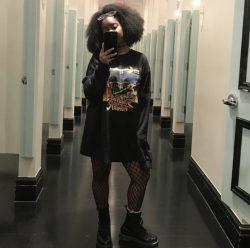 Emo Fashion Black