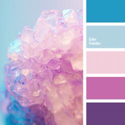 Pastel Color Palette | Blue, Pink, Purple