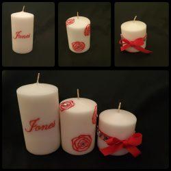 Customized Candle Set