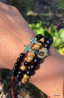 ✨Matte Black Onyx Bless Up Stack is on stock✨✨