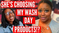 I Let A Youtuber Choose My Wash Day & Style…?