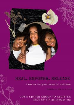 Heal. Empower. Release. Group THERapy