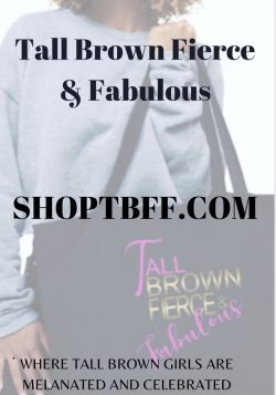 Shoptbff Brand for Tall Women and Girls of Color