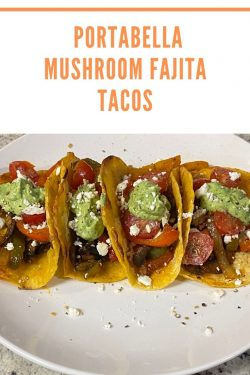 Portobello tacos
