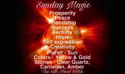 Sunday magic