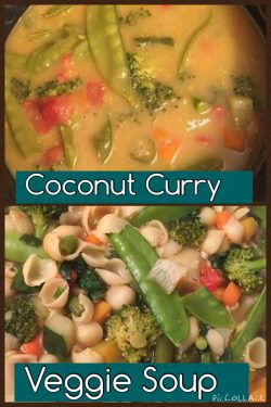 Coconut Curry Veggie Soup