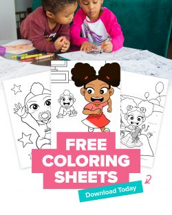 Poised kids financial literacy coloring pages