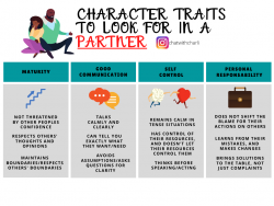 Character traits to look for in a partner