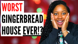 Did I win the WORST Gingerbread House Competition!? 😂🤣 | VLOGMAS DAY 11