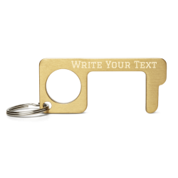 Customizable Engraved Brass Touch Tool ⋆ KPXchange