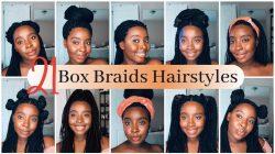 21 Box Braids Hairstyles