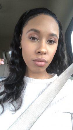 Rosy makeup look