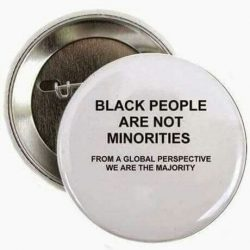 Black People Have NEVER Been the Minority