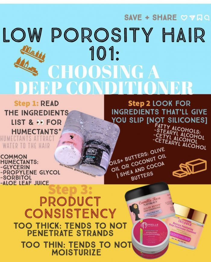 LOW POROSITY TIPS: Deep Conditioning!