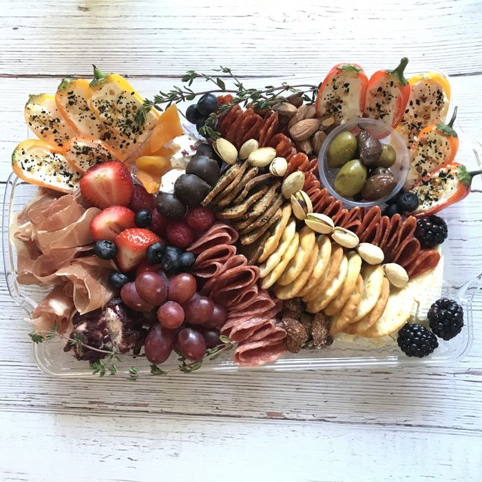 Set up for a party platter