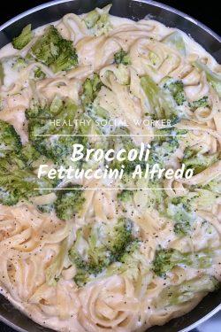 Broccoli Fettuccini Alfredo