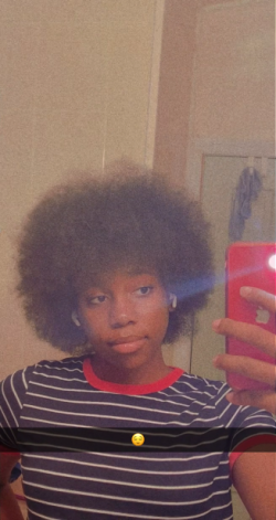 pt.1 of my afro growth