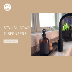 Reusable Soap Dispensers By Cinaa Carter Home