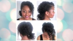 TWIST AND CURL ON FINE HAIR | WASH DAY 4C HAIR SHORT| #shorts