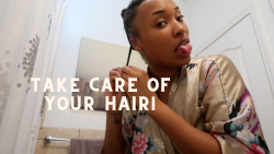 My Night time Natural Hair routine for 4A