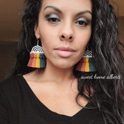 Rainbow Earrings by Sweet Home Alberti