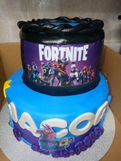 2 tier fortnite cake