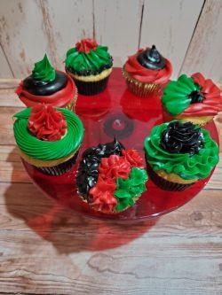 Kwanzaa Cupcakes