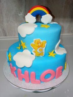 Carebear cake