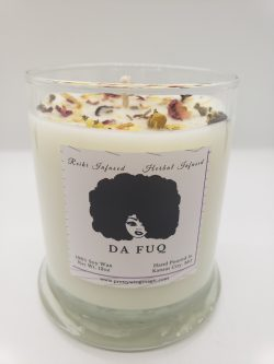 Da Fuq Herbal Infused Reiki Intention Candle