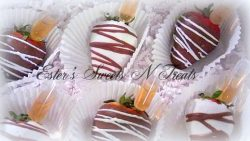 Infused Chocolate Covered Strawberries