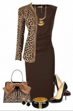 Brown and cheetah