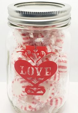 Peppermint Love Jar