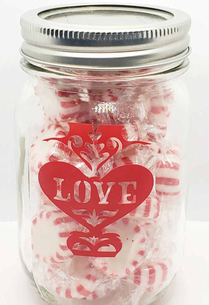 Peppermint Love Jar