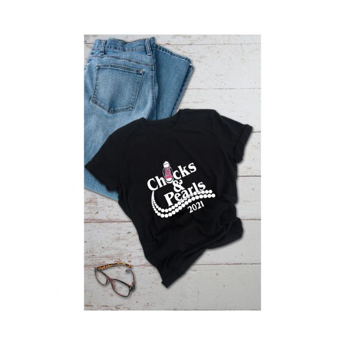 Chucks And Pearls T-Shirt, 2021 Inauguration Day| Chucks 2021 T-Shirt| Vice President 2021 Kamal ...