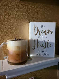 It starts with a dream. Then hustle your ass until it's REALity!