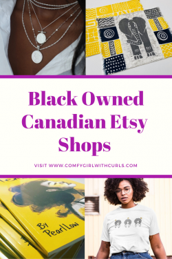 Black Owned Canadian Etsy Shops to Support
