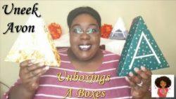 UNBOXING A BOXES| UNEEK AVON