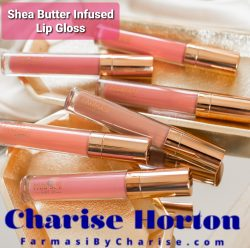 Shea Butter Infused Nude Lip Gloss