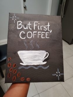 Dollar Store DIY Coffee Sign