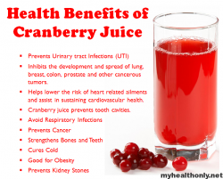 Benefits of cranberry juice. (This is one of my favorite drinks)😊