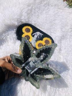 Tupac & Sunflowers