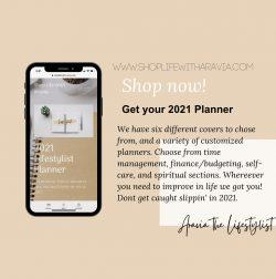 2021 LIFESTYLIST Planner