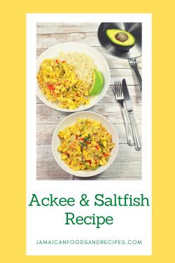 Ackee and Saltfish Recipe
