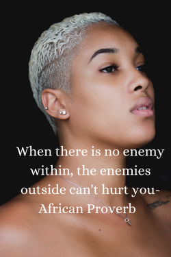 Silence the enemy within