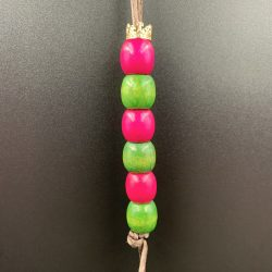 """Unity"" Wooden Hair Bead Strand"